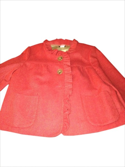 Preload https://img-static.tradesy.com/item/1787703/jcrew-orange-red-jacket-lightweight-wool-ruffled-collar-a-line-blazer-size-6-s-0-0-650-650.jpg