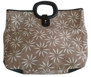Maxx New York Tote in Brown Floral Print