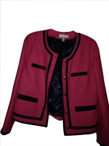 J.Crew red blue Blazer