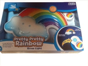 Uncle Milton Pretty Rainbow Moon Light For Baby's Room