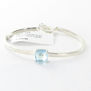 Ippolita Ippolita Bracelet Rock Candy Single Octagon Stone Blue Topaz 925