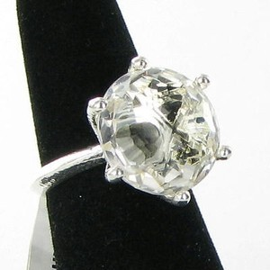 Ippolita Ippolita Ring Rock Candy Clear Quartz Solitaire Sterling 925