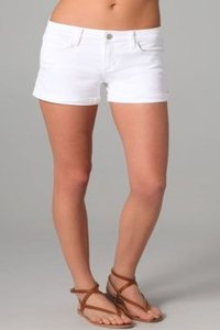JOE'S Jeans Cuffed Shorts White
