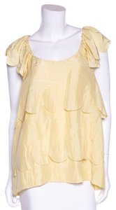 Stella McCartney Top Pale Yellow