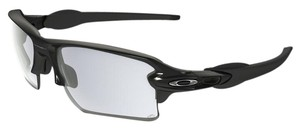 Oakley Oakley OO9188-50 Flak 2.0 Black/Clear Lens Sunglasses