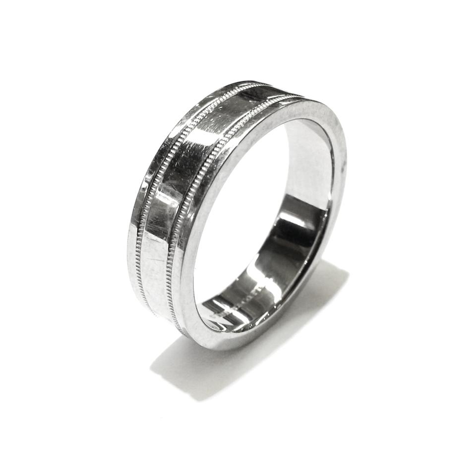 tiffany manworksdesign co men and s bands band ring inspirational com wedding platinum milgrain