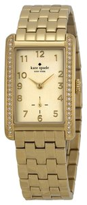 Kate Spade Kate Spade New York Women's Cooper Grand Gold-Tone Bracelet Watch