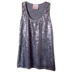 Romeo & Juliet Couture Top Silver