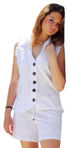 Lirome Organic Cotton Cottage Chic Vest