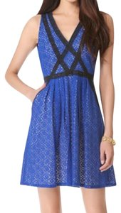 Marc Jacobs Lace Blue Dress
