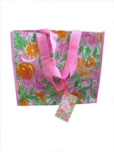 Lilly Pulitzer Market Oranges Eco Tote in Peelin Out