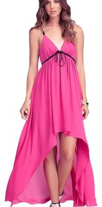 Pink Maxi Dress by bebe