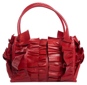 Oscar de la Renta Tote in Red