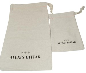 Alexis Bittar NEW! ALEXIS BITTAR JEWELRY DUST BAGS/ POUCHES - SET OF 2