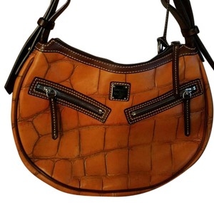 Dooney & Bourke Satchel in Burnt Orange