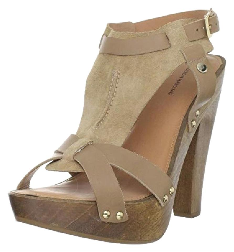 392d4684e7b Madison Harding Tan/Beige Women's Colter Sandal New Leather Suede Platforms  Size US 10 Regular (M, B) 64% off retail