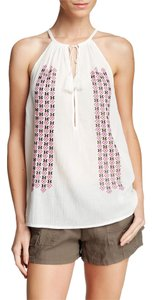 Joie Embroidered Tank Eniko Top