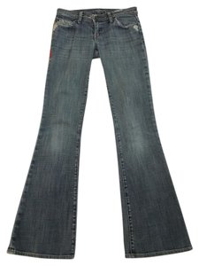 575 Denim Distressed Boot Cut Jeans-Distressed