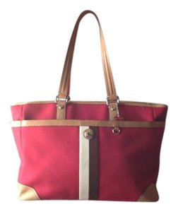 Coach Red Travel Bag