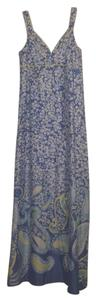 Blue/Yellow Maxi Dress by Lilly Pulitzer