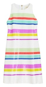 Kate Spade Sequin Stripe Dress