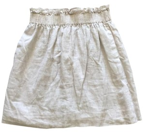 J.Crew Mini Skirt Gray