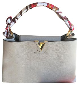 Louis Vuitton Satchel in Taupe