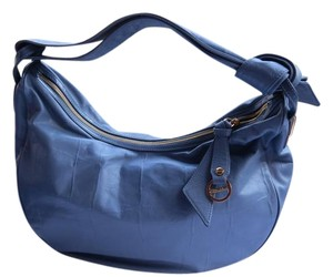 Borbonese Color Soft Lambskin Hobo Bag