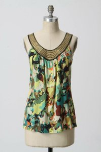 Anthropologie Top Multi Color
