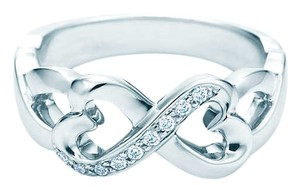 Tiffany & Co. PALOMA PICASSO Double Loving Heart Ring