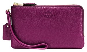 Coach Wristlet in Fuchsia