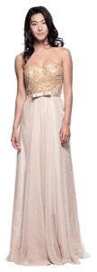 Bicici & Coty Sweetheart A-line Strapless 30d Chiffon Ks4163 Dress