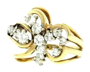BEST PRICE ON TRADESY - 14k Gold & 1 carat Diamond Right hand/cocktail ring