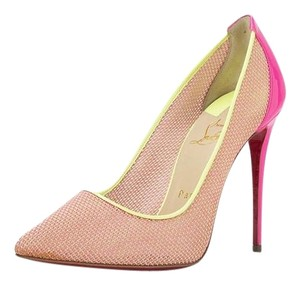 Christian Louboutin Pigalle So Kate Follies SHOCKING PINK Pumps
