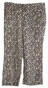 INC International Concepts Straight Pants Multi Color