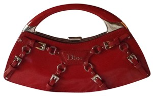 Dior Red Messenger Bag