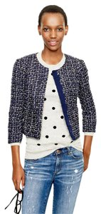 J.Crew Tweed Jacket Blue Blazer