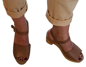Ecote Brown Mules