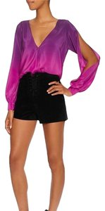 Jay Godfrey Top Purple