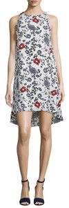 Theory short dress Multi Floral Silk on Tradesy