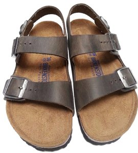Birkenstock Soft Footbed Oiled Leather Unisex Cocoa Sandals