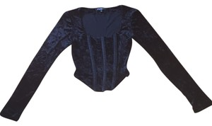 Betsey Johnson Velvet Top
