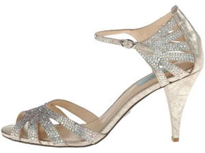 Betsey Johnson Sweet Crystallized Champagne Formal