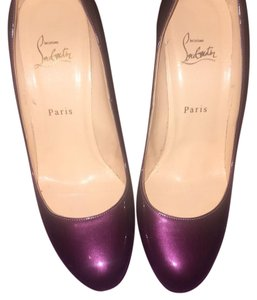 Christian Louboutin Amethyst Pumps