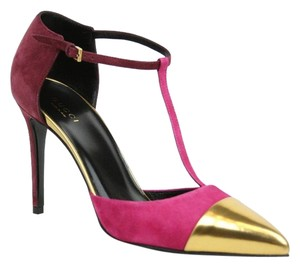 Gucci Sandal 353720 Muti-Color Platforms