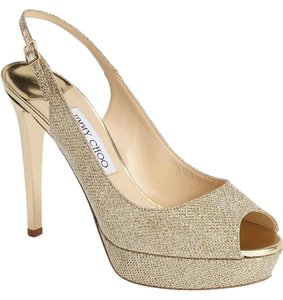 Jimmy Choo Verity gold Formal