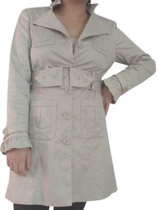 Dalia Trench Water-resistant Shine Trench Coat