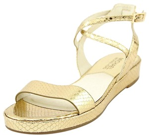 Michael Kors Pale Gold Flats