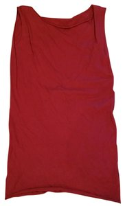 American Apparel short dress Cranberry Layering on Tradesy