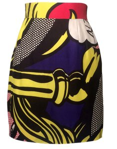 Moschino Skirt Comic Print